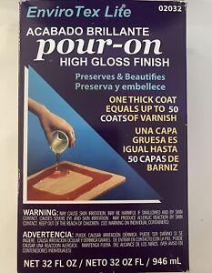 EnviroTex Lite Pour-On High Gloss Finish Kit
