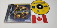 "Asteroids (Sony PlayStation 1, 1998) ""CIB"" PS1"