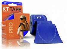 KT TAPE PRO Synthetic Elastic Kinesiology 20 Pre Cut Strips Therapeutic Tape,