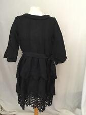 Sublime robe brodée 100 % lin MANOUSH taille 40 en très bon état.