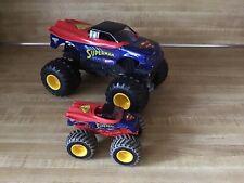 Hot Wheels Monster Jam SUPERMAN Monster Truck 1/24 & 1/32 Muddy Version
