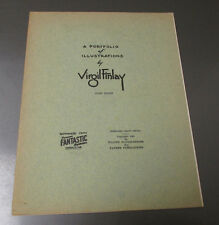 1951 Portfolio Illustrations by VIRGIL FINLAY 3rd Series FN Famous Fantastic Mys