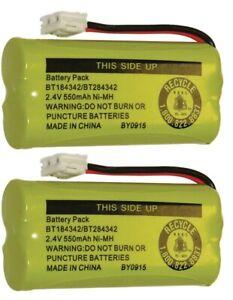 Replacement Battery BT184342 BT284342 4 AT&T CL80100 CL80109 SL80108 Phones 2-PK