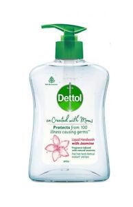 Dettol Co-created with moms Jasmine handwash Pump 200ml  KU