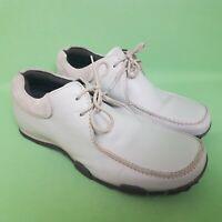 PETROLEUM Mens Shoes UK 10 EU43 Light Grey Leather Lace Up Loafers