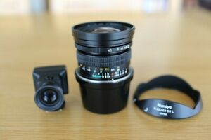 Mamiya 7 50mm N f/4.5 Wide Angle Lens with Hood & Viewfinder Superb Condition