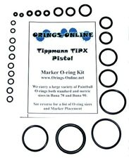 Tippmann TiPX Paintball Marker O-ring Oring Kit x 2 rebuilds / kits