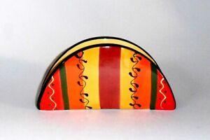 Spanish Ceramic Napkin Holder 16 cm l.