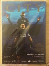 Premiership Leicester City Teams L-N Football Programmes
