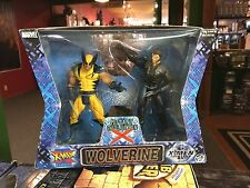 "2000 ToyBiz Marvel Legends WOLVERINE Mutant Evolution 6"" Action Figure Set MIB"