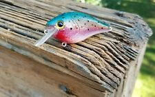 CUSTOM PAINTED  LUCKYCRAFT STRIKEKING STYLE CRANKBAIT RAINBOW TROUT FISHING LURE
