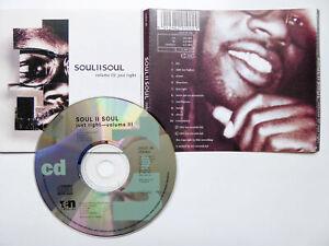 SOUL II SOUL <  Volume III Just Right  > VG (CD)