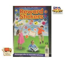 1000 Children's Reward Stickers Chart Motivation Kids Teacher School Well Done