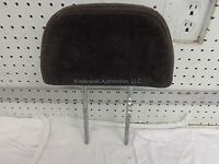 Jeep Grand Cherokee Headrest Front Bucket Seat Cloth Dark Gray 1998 Head Rest
