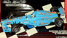 Benetton Playlife Renault B200 Formula1 Showcar 2000 #11 G. Fisichella 1:43