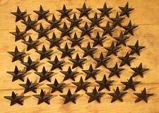 "Cast Iron Texas Star Nail Medium 2 3/4""(Set of 50) Flag Craft Decor 0170S-02112"
