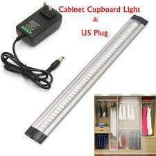 30cm LED Under Cabinet Cupboard Counter Lamp Strip Light & US Plug Home