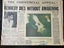 The Commercial Appeal Newspaper - June 6, 1968 - Kennedy Dies Without Awakening