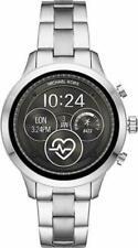 Michael Kors Access Silver Touch Screen Runway Smartwatch 41MM MKT5044