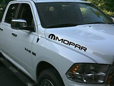 Truck car vinyl decal rebel stripe sticker Dodge Ram hood both sides mopar Hemi