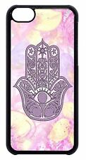 Evil Eye Guard Hamsa Hand Pattern Cute Case Hard Back Cover For Apple iPod 4 5 6