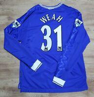Chelsea Jersey Shirt #31 George Weah umbro 100% Original 1999/2000 Home M
