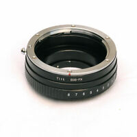 Tilt Tilted Canon Lens To Fujifilm X-Mount X-T1 X-T2 X-T10 X-T20 X-H1 Adapter