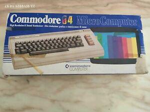 Retro computer vintage Commodore 64 C64 biscottone prima serie