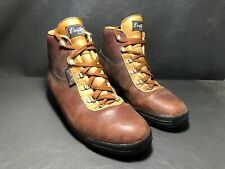 Vintage Vasque Men's Goretex Leather Hiking Boots Size 11 Italy