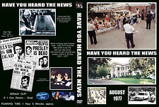 ELVIS PRESLEY DVD- HAVE YOU HEARD THE NEWS.