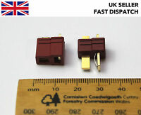 Male & Female Deans T Plugs *WITH GRIPS* Connectors/Sockets - Various Quantities