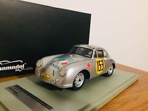 Porsche 356 SL 1953 #153  Carrera Panamericana Tecnomodel 1/18