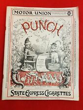 Vintage : PUNCH Magazine : 7th September 1927