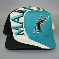 Florida Marlins MLB Vintage 90's Twins Enterprise Adjustable Snapback Cap Hat