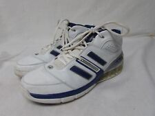 Adidas bounce men's size 11.5 high top basket ball shoes athletic