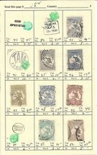 Australia Used Lot to 1930 on Aps Pages, '20 Scv $250+