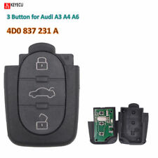 Transmitte Remote Control Key 3Button 4DO 837 231 A 433.92Mhz For Audi A3 A4 A6