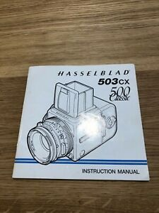 Hasselblad 503CW -  Instruction Manual In near mint condition Very Rare