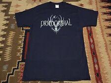 PRIMORDIAL logo SHIRT XL,Manegarm,Moonsorrow,Korpiklaani,Ensiferum,Skogen,TYR