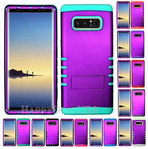 For Samsung Galaxy Note 8 - KoolKase Hybrid Silicone Cover Case - PURPLE (R)
