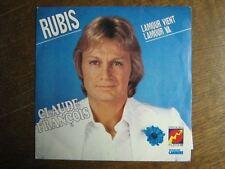 CLAUDE FRANCOIS 45 TOURS FRANCE RUBIS