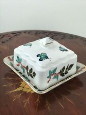James Kent Old Foley Eastern Glory Squared Butter Dish