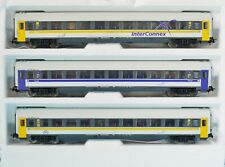 3 NEW PIKO INTERCONNEX COACHES from TRAIN SET 57180 BUSINESS TRAVELLER + ECONOMY