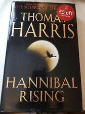Hannibal Rising by Thomas Harris, 2006 1st Edition 1st Impression Heinemann H/B