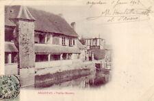 CPA 61 NORMANDIE - ARGENTAN Vieilles Maisons Bains l' Orne 1902