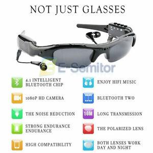 UK Sports Mini HD Spy Camera Glasses 1080P Hidden Sunglasses Cam Eyewear DV DVR