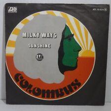 "COLOMBUS - Milky Ways > Single 7"" Vinyl, atlantic 1975"