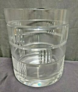 Tiffany and Company Crystal Ice Bucket Made in Brazil (NH)