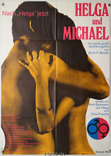 Helga und Michael Michael and Helga 1968 Original-Kinoplakat Art:Fritz Fischer