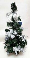 Alberi di Natale decorati in argento